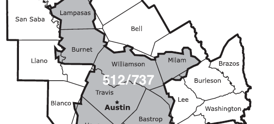 737 area code